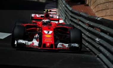 Start di Posisi Terdepan GP Monaco, Kimi Raikkonen Tetap Waspada