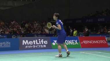 Seru! Jepang Samakan Kedudukan Atas China di Semifinal Piala Sudirman 2017