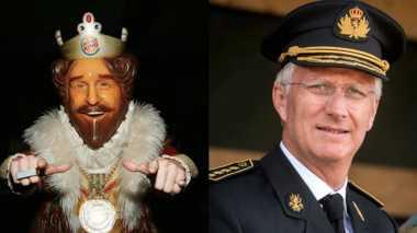 Iklan Burger King Bikin Keluarga Kerajaan Belgia Berang