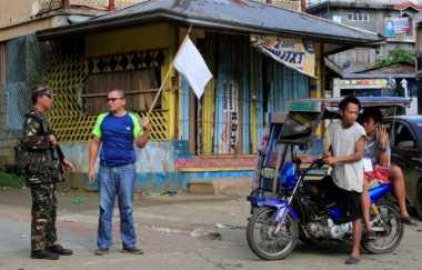 Desak Pemberontak di Marawi, Filipina Lancarkan Serangan Udara