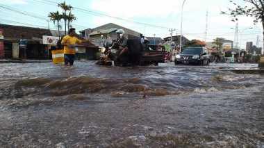 Waduh! Ribuan Rumah Warga Belawan Terendam Banjir Rob