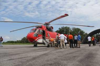 Berstatus Siaga Darurat Kebakaran Hutan, Pemerintah Pusat Kirim 5 Unit Helikopter Pemadam ke Riau