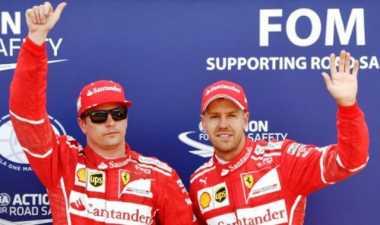 Vettel: Saya Siap Bersaing dengan Raikkonen di GP Monaco