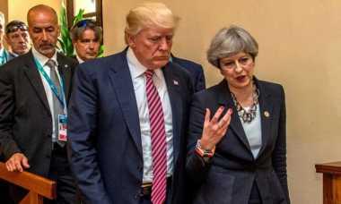 Trump: PM Inggris Marah Info Sensitif Bom Manchester Bocor