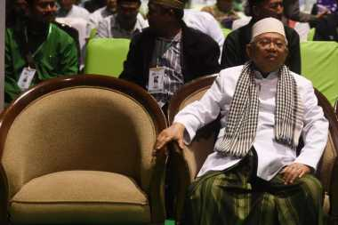 KH Ma'ruf Amin Berikan Tausiah di Istana Bogor
