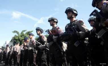 Aduh! Bubarkan Tawuran di Bima, Anggota Brimob Terkena Panah