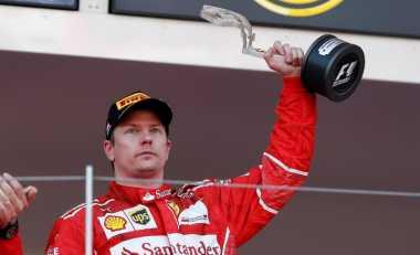 Gagal Ungguli Sebastian Vettel di GP Monaco, Raikkonen: Tentu Saja Saya Kecewa!