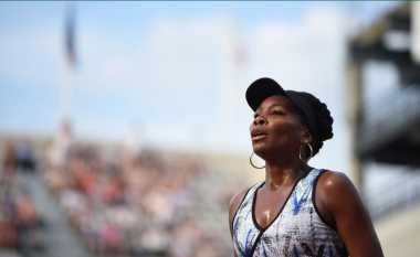 Susah Payah, Venus Williams Lolos ke Babak Kedua Prancis Open 2017
