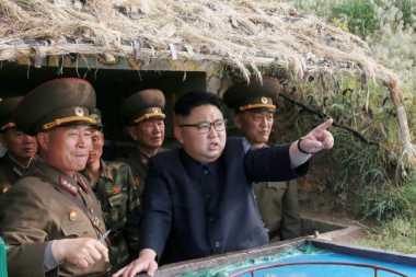 Kim Jong-un Puas terhadap Sistem Pemandu Presisi Rudal Jarak Pendek