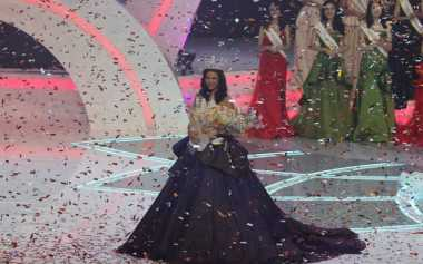 Pesan Orangtua, Trik Achintya Nilsen Jalani Peran sebagai Miss Indonesia 2017