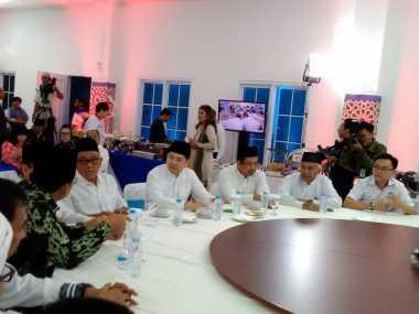 Usai dari Istana, Pimpinan DPR Hadiri Buka Bersama Perindo