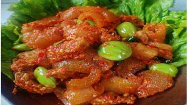 RESEP NENEK: Sambal Goreng Kikil, Daging & Petai Suguhan Spesial untuk Lebaran