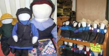 OKEZONE STORY: Boneka Tanpa Wajah, Mainan Eksentrik Orang Amish