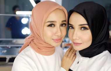 Inspirasi Gaya Hijab untuk Lebaran ala Zaskia Sungkar hingga Laudya Chintya Bella