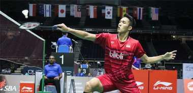 Jumpa Lin Dan di Babak 16 Besar Australia Open 2017, Jonatan Christie Sudah Siapkan Strategi