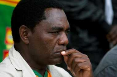 Tak Berhenti Saat Presiden Lewat, Pemimpin Oposisi Zambia Dituduh Berkhianat