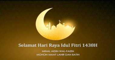 LEBARAN SEBENTAR LAGI: Yang Harus Dilakukan ketika Idul Fitri Tiba