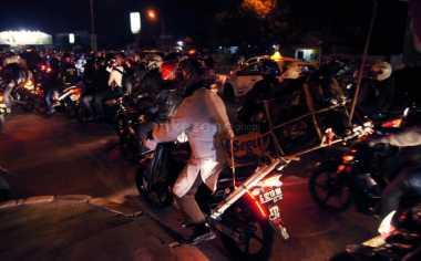 H-3, Pemudik Bermotor Padati Ruas Jalan Kota Bekasi