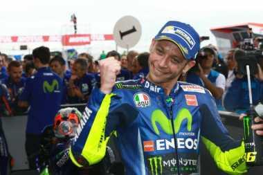 Ingin Perbaiki Hasil Buruk, Valentino Rossi Berharap Bisa Bersaing Lagi di Assen