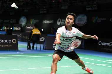 Kalah di Babak 16 Besar Australia Open 2017, Anthony Sinisuka Ginting Akui Chen Long Lebih Cerdik
