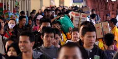 36 Ribu Pemudik dengan Kereta Api Turun di Yogyakarta