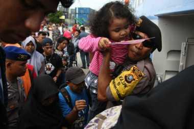 Cerianya Anak-Anak Mudik Naik Kapal, Bebas Bermain & Dapat Teman Baru