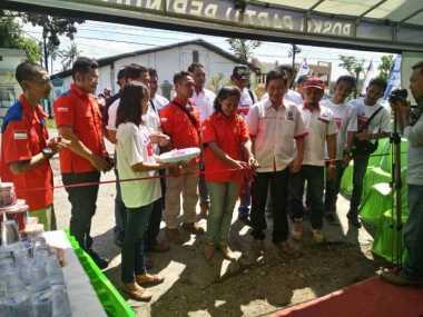 Bantu Pemudik, DPW Rescue Perindo Jatim Dirikan Posko Mudik Lebaran