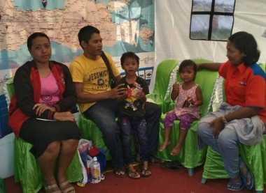 Cerita Ayu, Keluarga Kecil asal Malang Akhirnya Bisa Pulang Usai Bertemu DPW Rescue Perindo Jatim