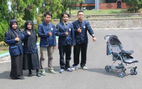 Jelang Lebaran, Mahasiswa Ciptakan Kereta Bayi Anti-Maling