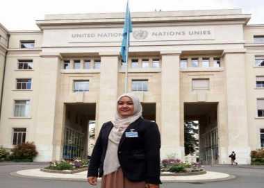 Dosen Ini Berkesempatan Ikut Training HAM PBB di Jenewa
