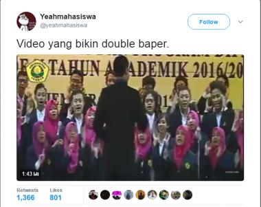 Tampilkan Dangdut, Video Gelaran Wisuda Ini Viral di Medsos