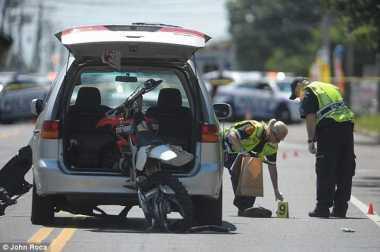 Mencuri Sepeda Motor, Penjahat Ini Tewas Ditabrak Si Korban