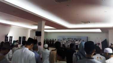 Malam Penutup Puasa, Shalawat Bergema di DPP Partai Perindo