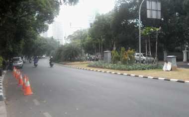 Ditinggal Pemudik, Jalan Protokol di Jakarta Mulai Lengang