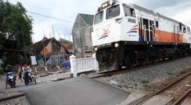 Lempari Kaca Kereta Api Pakai Batu, 5 Bocah Diamankan Petugas