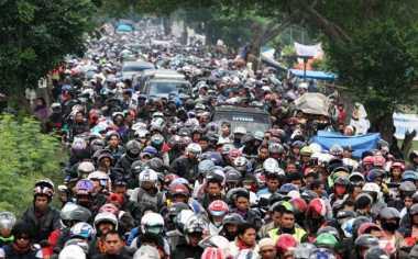 Puncak Arus Mudik di Jalintim OKI-Palembang Terjadi Sore Ini