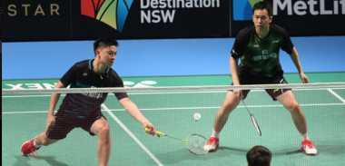 Tantang Pasangan Jepang di Perempatfinal Australia Open 2017, Hendra/Tan Ingin Main Sabar