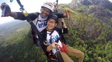 Menyongsong Asian Games 2018, Bupati Lahat Aswari Riva'i Siapkan Spot Paralayang Terbaik di Indonesia