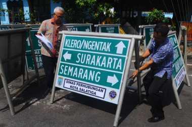 Dishub Yogyakarta Pasang Petunjuk Rute Alternatif Mudik