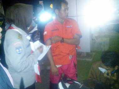 Posko Mudik Rescue Perindo Tangangi Korban Kecelakaan di Sleman