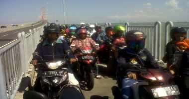 Puncak Arus Mudik di Suramadu, Pengendara Motor Diprediksi Naik 200 Persen