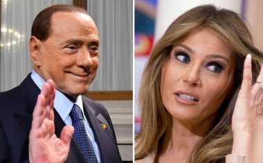Wah! Silvio Berlusconi Nyatakan Ketertarikan pada Melania Trump