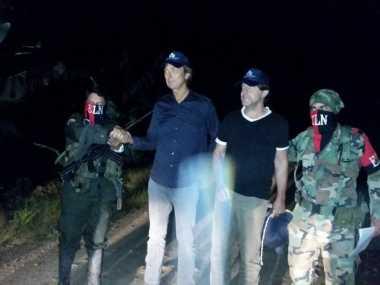 Pemberontak Kolombia Bebaskan Dua Jurnalis Belanda