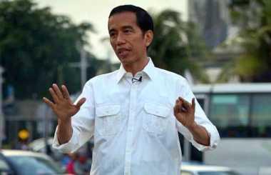 Presiden Jokowi Salat Id di Masjid Istiqlal