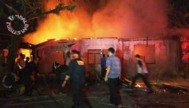 Bermula dari Kios Bensin, Tiga Kios di Bogor Ludes Terbakar