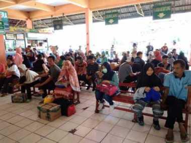 H-1 Lebaran, 66.800 Ribu Pemudik Berangkat dari Terminal Kampung Rambutan