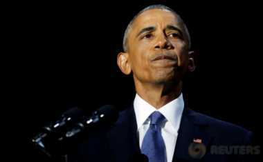 Hari Pertama Liburan, Obama Masih Betah Tinggal di Villa