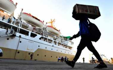 2.773 Pemudik dari Kalteng Rayakan Lebaran di Atas Laut