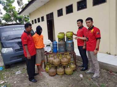 Jelang Lebaran, Polisi Gerebek Gudang Pengoplosan Elpiji Bersubsidi di Asahan