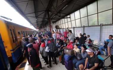 Pasca-Lebaran, Harga Tiket Kereta Api Ekonomi Bersubsidi di Sumut Naik